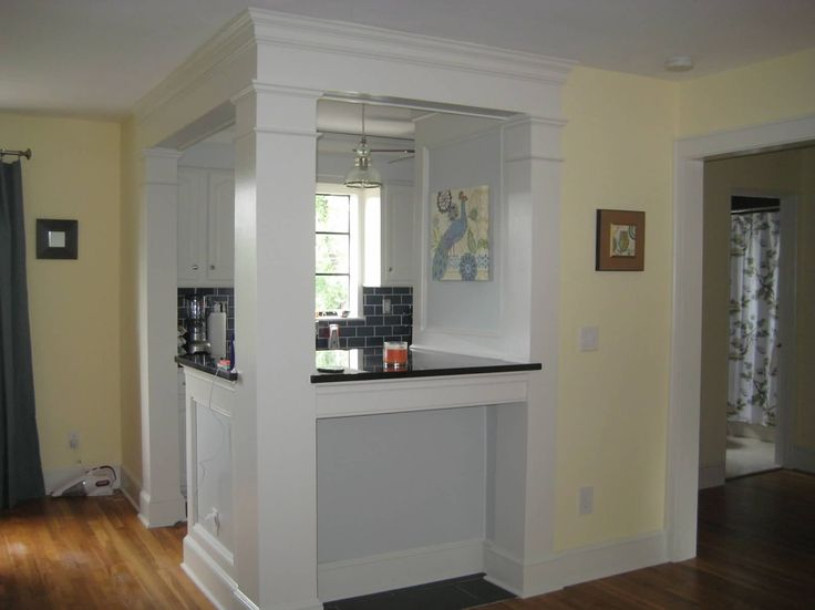 Galley kitchen turned into breakfast bar home for Galley kitchen designs with breakfast bar