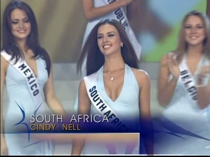 (HD) MISS UNIVERSE 2003 Top 15 Announcement