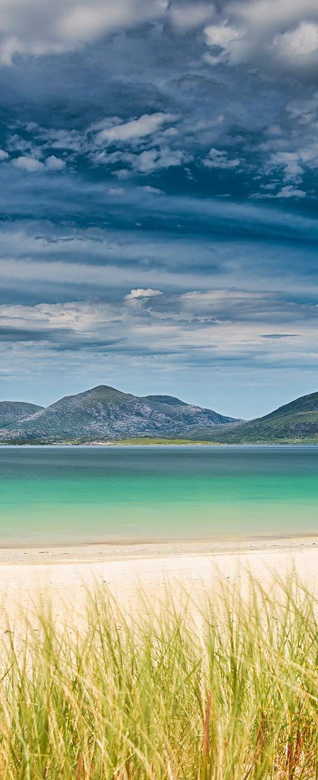 Luskentyre beach, Isle of Harris, Scotland. There may be better beaches somewhere but........