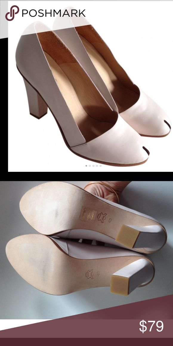 Cos heels BRAND NEW real leather pale pink Sz 10 Never worn COS heels, real leather, light shade of pink COS Shoes Heels