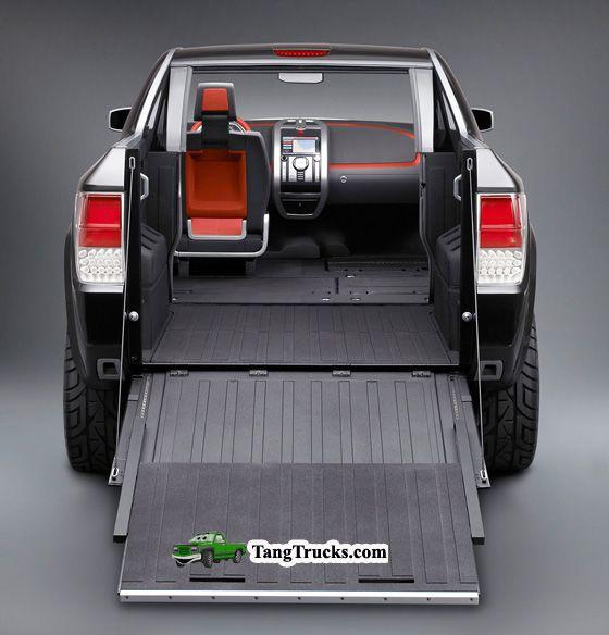 2016 Dodge Dakota back