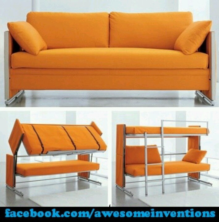 Couch Bunkbed Combo I So Want This Cool Crib Pinterest