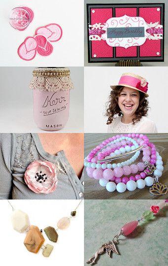 Pink Love by Katrina Hagler on Etsy--Pinned with TreasuryPin.com