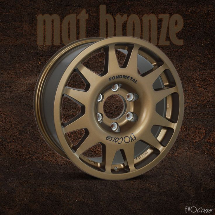 New finish for the EVO Corse wheels: mat bronze! Available for all models.  What do you think? #lifeisawheel