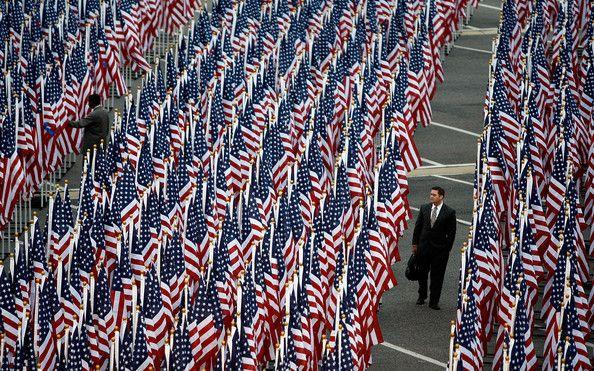 9/11 Pentagon memorial 2008