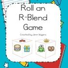 Students will roll dice with r-blend pictures and complete graph.  There are 4 different dice and a graph included in pack.  The pack also includes...