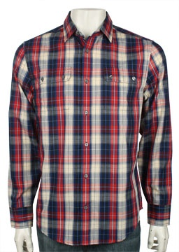 Double Pocket Plaid Shirt - Original Penguin Clothing