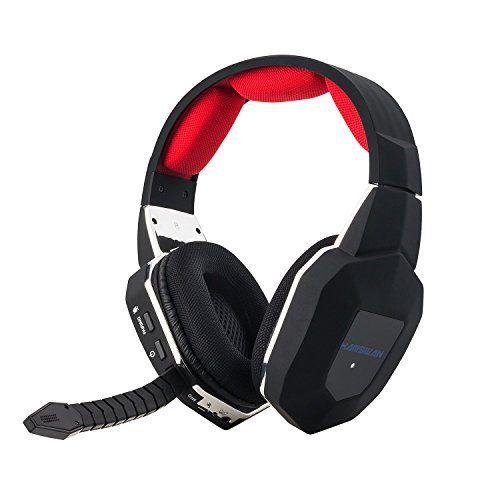 HAMSWAN Casque Gaming sans fil compatible pour XBOX one xbox 360 PS3 PS4 PC: hamswan Bluetooth offrant une large réponse en fréquence et…