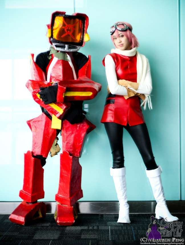 fooly cooly cosplay | we found this cool flcl cosplay pair on tumblr the canti cosplayer is ...