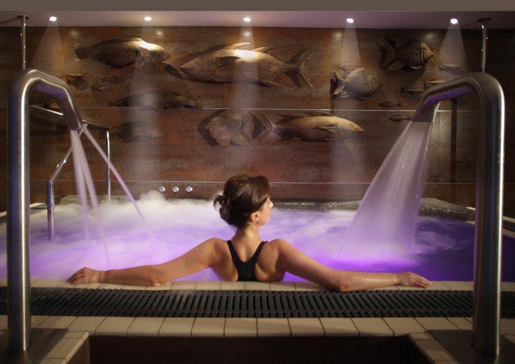 Jacuzzi, Voyage Spa, Thurlestone Hotel