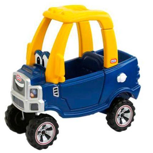 Little Tikes gåbil - Cozy Coupe - Truck - Blå Opfordrer til aktiv leg, fantasi og styrker både fin- og grovmotorik - Coop.dk