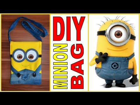 How to create Minion Gift Bags - YouTube