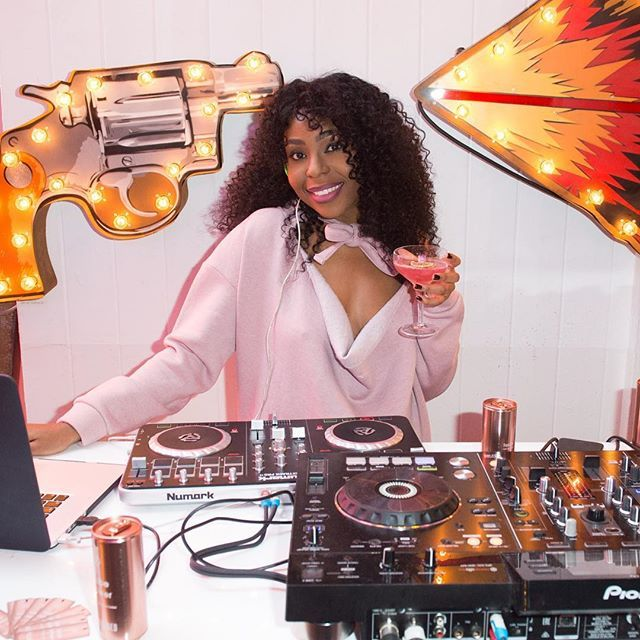 b. talent babe Mercedes benson serving up some serious BabePower last night for Missguided