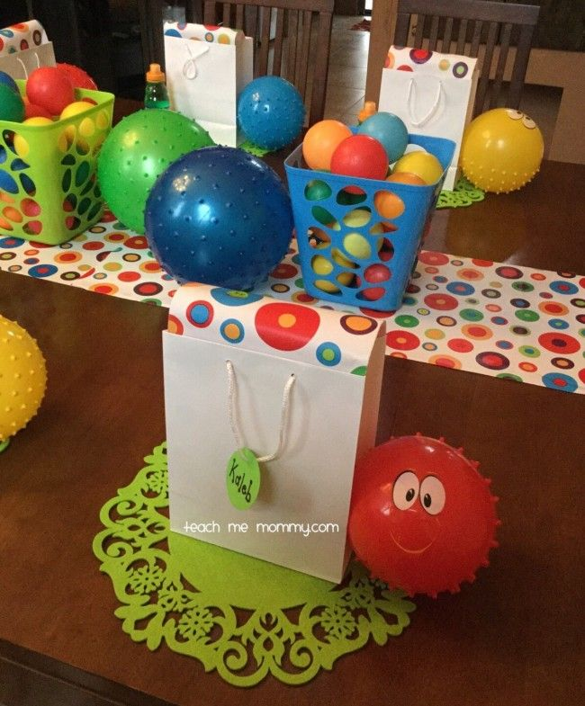 25+ Best Ideas About Ball Theme Party On Pinterest