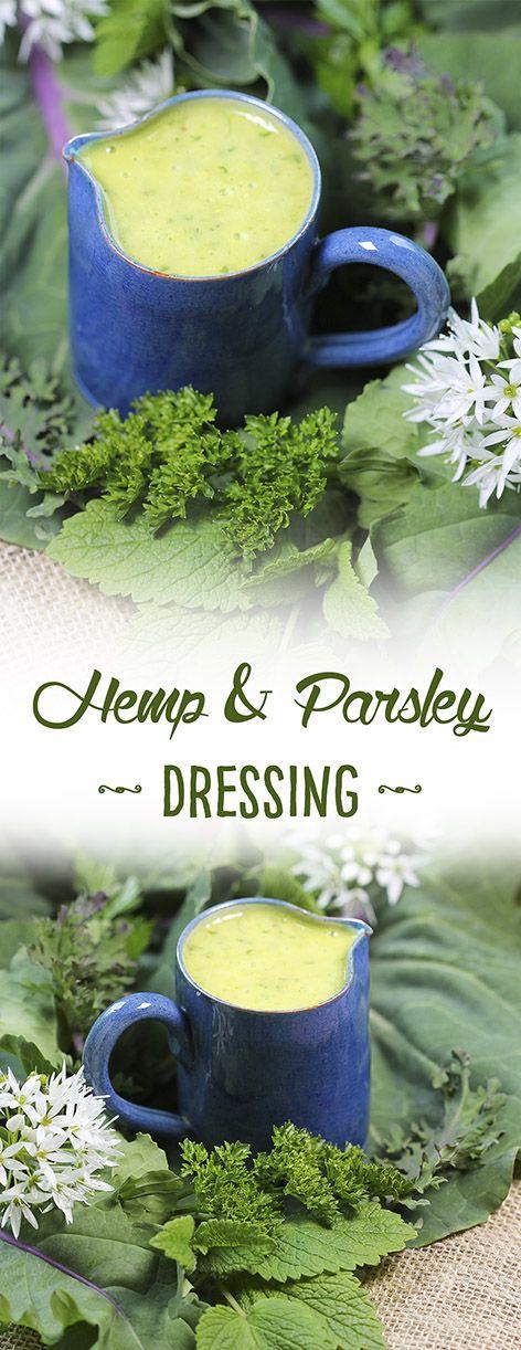 Hemp & Parsley Salad Dressing