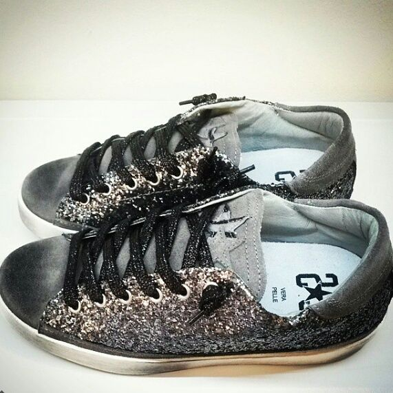 Gray Glitter shoes for this winter by #2star #fashion #love #shoes #collection #beautiful #shopping #amazing #men #woman