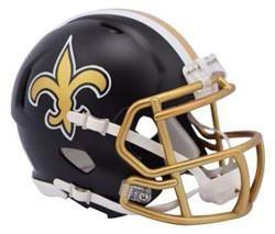 Riddell New Orleans Saints Blaze Speed Mini Helmet