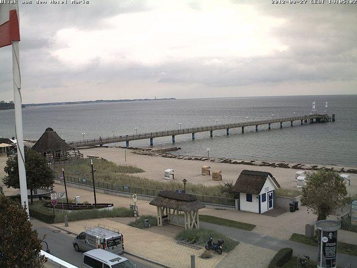 Der Himmel über #Scharbeutz #Ostsee #Wetter