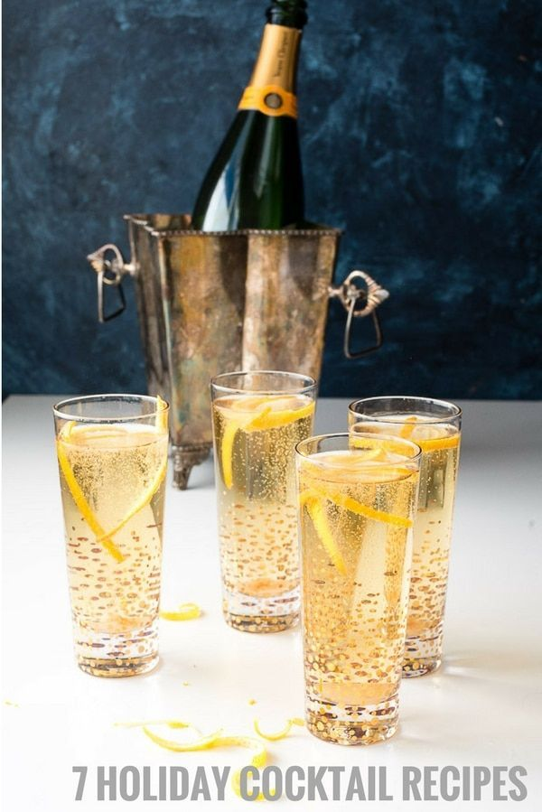 7 Holiday Cocktail Recipes Your Guests Want You to Make via