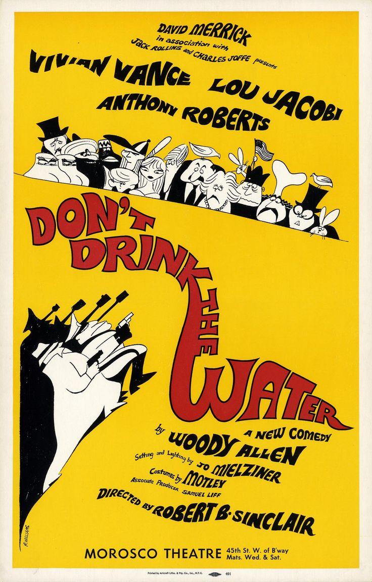 Original Broadway show poster for Morosco Theater 1966
