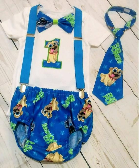 Puppy Dog Pals Smash Cake Outfit Puppy Dog Pals Birthday Outfit