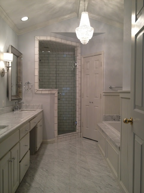 Lindley Arthur Updates Her Bathroom With #ZGallerie Omni Mirrors.