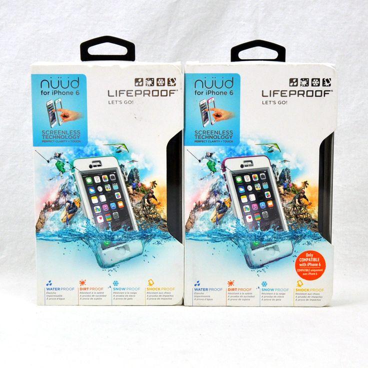 LIFEPROOF NUUD IP68 Waterproof Case for iPhone 6 Screenless Technology | eBay
