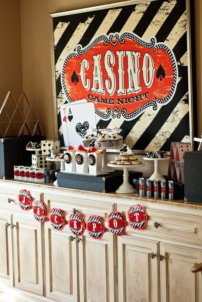 Décoration de mariage Las Vegas & Casino…                                                                                                                                                                                 Plus
