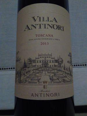 VINI AL SUPERMERCATO: Villa Antinori Rosso Toscana Igt 2013, Marchesi An...