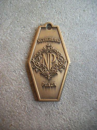 Vintage Netherland Plaza Hotel Key Fob Thirties Brass | eBay