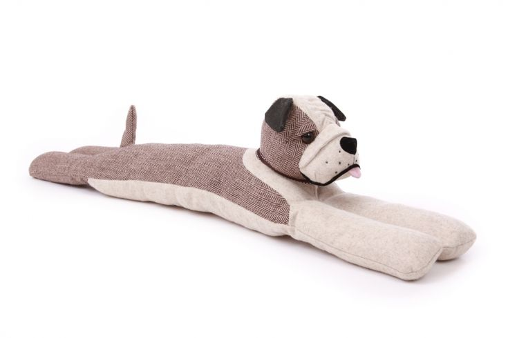 Bulldog Thurston Draught Excluder By Dora Design - A Bentley Cushions