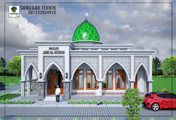 Gambar Desain Masjid Minimalis 12x12 Desain Masjid Di 2019