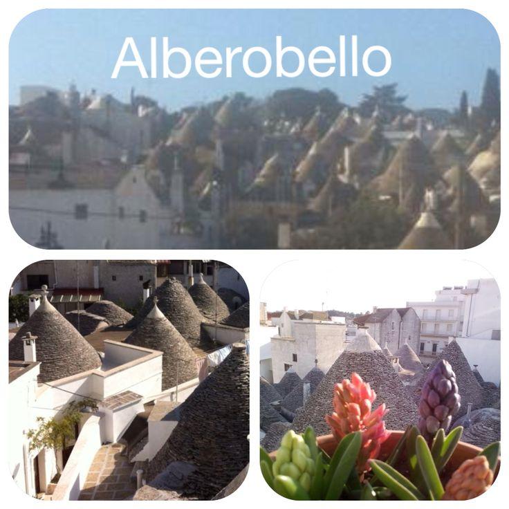 Cartolina da Alberobello www.trullinet.com
