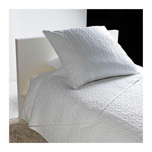 ALINA Bedspread and cushion cover - Twin/Full (Double)  - IKEA