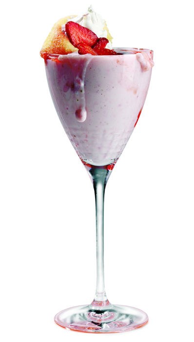 "Pinnacle Vodka's ""Pinnacle Strawberry Shortshake."""