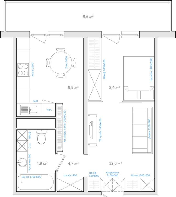 Шкафы в прихожей с антресолями + книжные полки в коридоре по пути на кухню - моя планировка? http://odnushka.blogspot.com/2010/06/blog-post.html