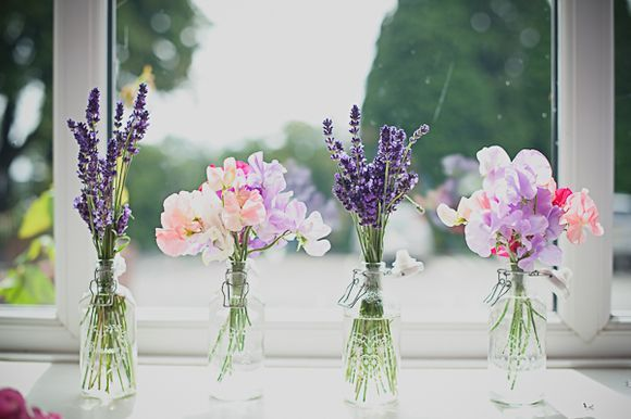 Love the idea of incorporating lavender into bouquets / arrangements - such gorgeous colour and fragrance