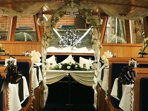 Canal Boat Wedding Wow I Could Work With This