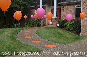Candid Confessions of a Southern Princess: Pink pumpkin 1st birthday party!