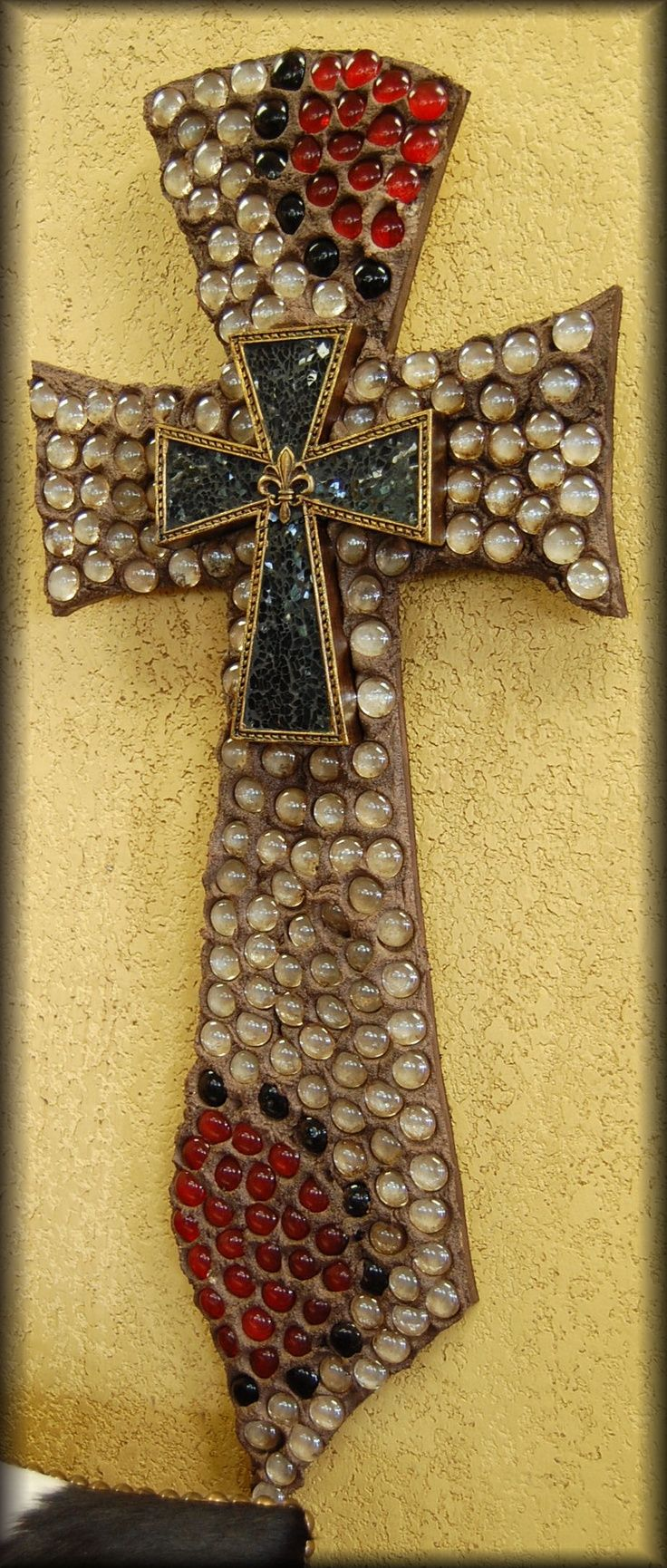 58 best cross ideas images on Pinterest | Mosaic, Mosaic art and ...