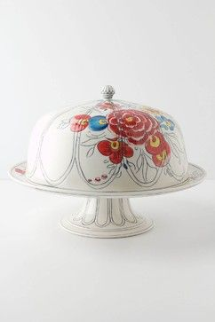 Whether you go sweet or savory, these pretty pedestals, domes and tiers will make your delicacies stand out