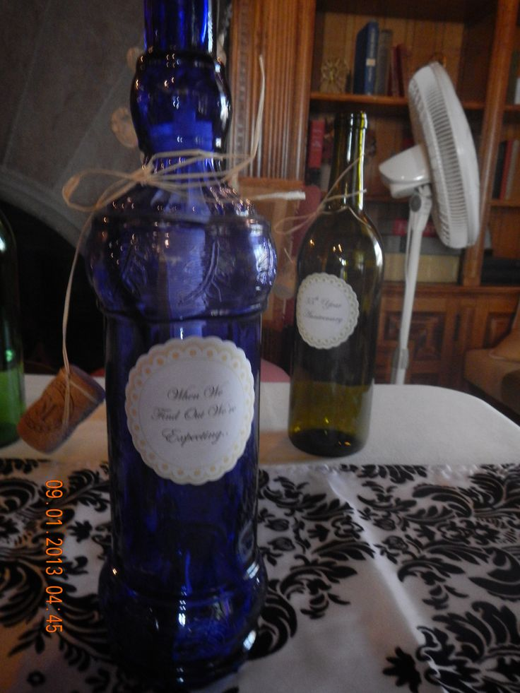 Adorable idea! #Bottles for the #wedding guests to write messages in a bottle for the #bride and #groom