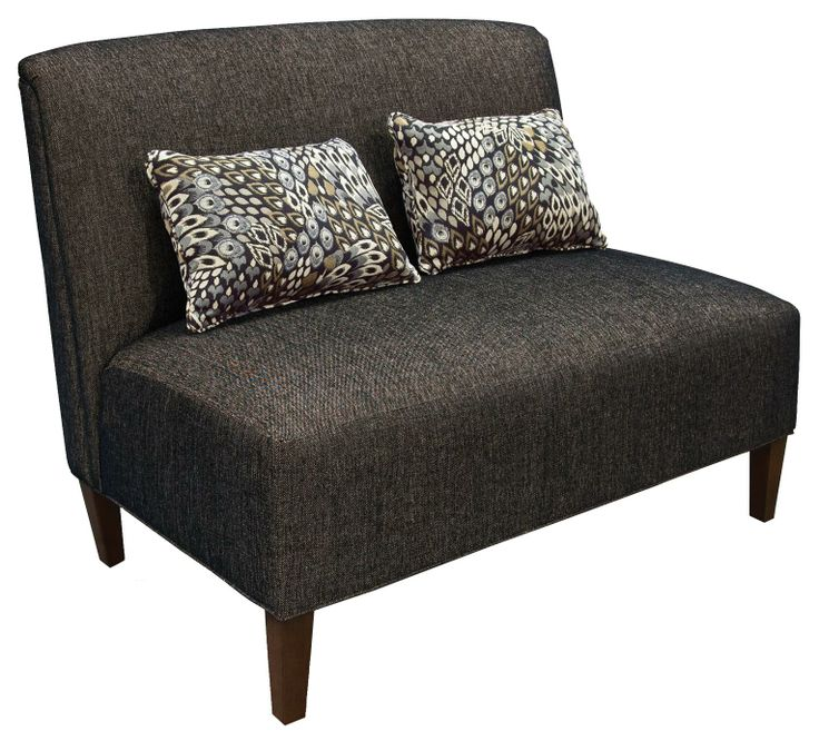 Contemporary Sophistication Embodies This Handsome Chair And Ottoman From England  Furniture. Tight Back And Seat Cushions Appear Neat And Clean, ...