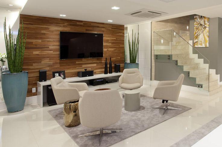 salas bate papo integrada sala tv estar ideias decorar salas grandes decor salteado 6 jpg (800  -> Decoração De Interiores Salas Grandes