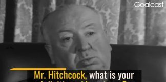 Alfred Hitchcock: What Happiness Means to Me