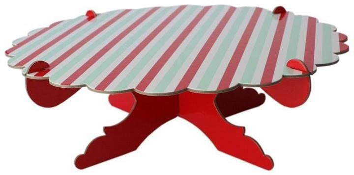1 Cardboard Cake/Cupcake Stand – Humbug (Red, Green and white stripe) - Included in the deluxe packs only $175 - www.strawberry-fizz.com.au