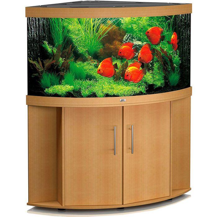 Un element care poate aduce un plus de culoare si de frumusete oricarui decor este un acvariu. Daca vrei sa iti impresionezi vizitatorii, atunci alege modelul Juwel Trigon 350. #acvariu #pesti #design #interior