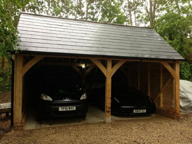 Outdoor Car Garage Design