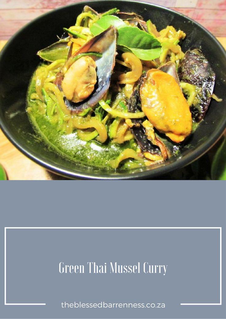 pinterest - Thai Green Mussel Curry