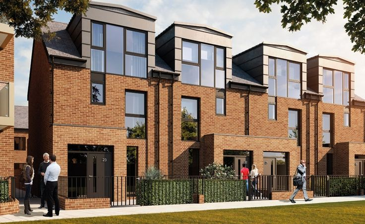 Computer images of houses in Camberwell Fields, new housing in Camberwell - Google Search